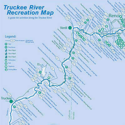 Truckee River Recreation Map Learn about everything there is to