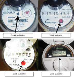 Non-Badger brand water meters used in the TMWA system.