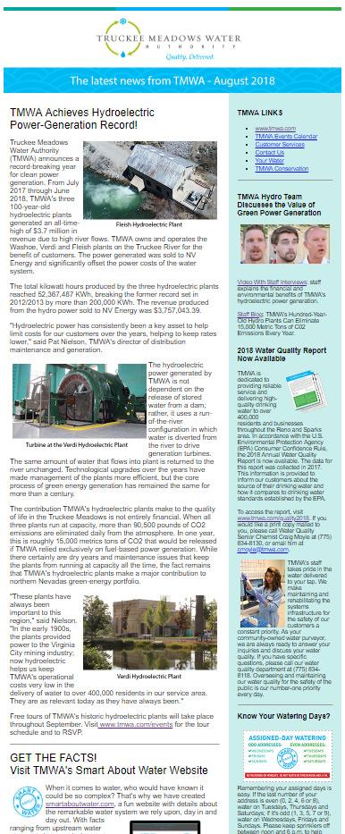 E-Newsletter Thumbnail Image.