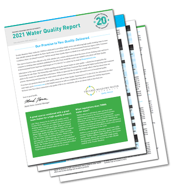 Image of TMWA 2021 Water Quality Report