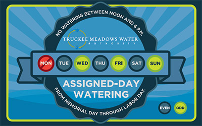 Water Weather-Wisely on your Assigned Days