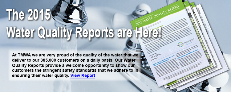 TMWA's 2015 Water Quality Reports are now Available